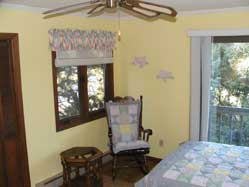 Seagull Bedroom on Ocracoke Island
