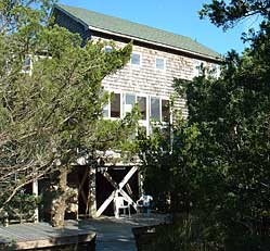 Piper Green rental cottage on Ocracoke Island