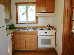 Ocracoke cottage kitchen
